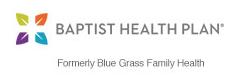 Baptist Health Plan - Formerly Blue Grass Family Health
