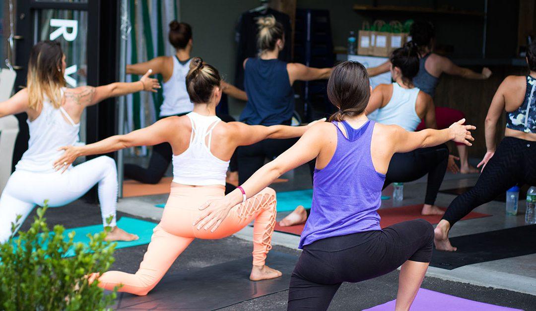 Women Doing Yoga - Stress Awareness Month